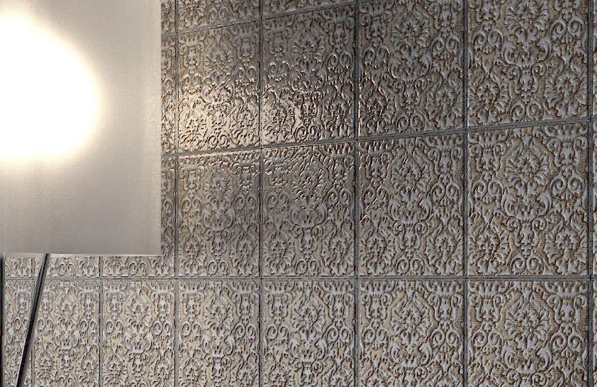 Infografia pieza azulejo cuantico infografia 3d y video for Infografia 3d