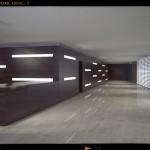 Infografia render 3d oficina 2