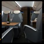 Render 3d infografia Interior Avion Detalle03